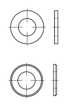 Шайба    DIN 125