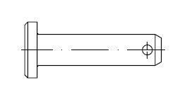 Штифт    DIN 1444
