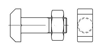 Болт    DIN 261