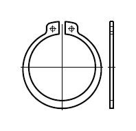 Кольцо DIN 471