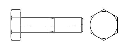 Болт    DIN 6914