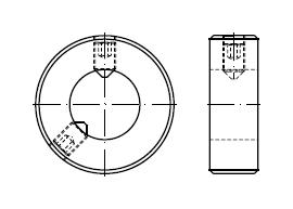 Кольцо DIN 703