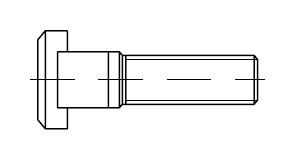 Винт    DIN 787