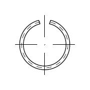 Кольцо DIN 7993