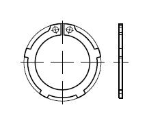 Кольцо DIN 983