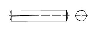 Штифт    DIN 1472