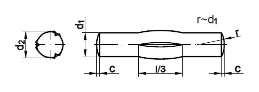 Штифт    DIN 1475