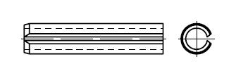Штифт    DIN 1481