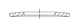 Шайба пружинная тарельчатая    DIN 2093