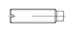Винт установочный    DIN 417