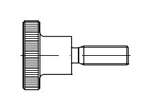 Винт    DIN 464