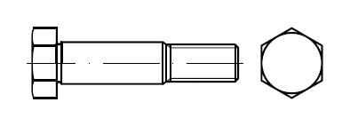 Болт призонный    DIN 609