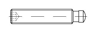Шпилька DIN 6332