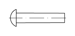 Заклепка    DIN 660