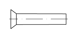 Заклепка    DIN 661