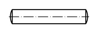 Штифт цилиндрический    DIN 7