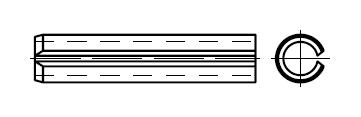 Штифт    DIN 7346