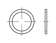 Кольцо DIN 7603