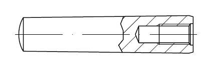 Штифт    DIN 7978