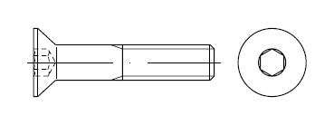 Винт    DIN 7991