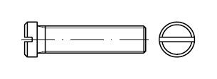 Винт    DIN 920