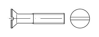 Винт    DIN 963